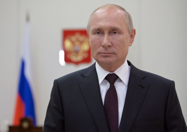 普京:俄中互助精神不断发扬光大 促两国关系蓬勃发展