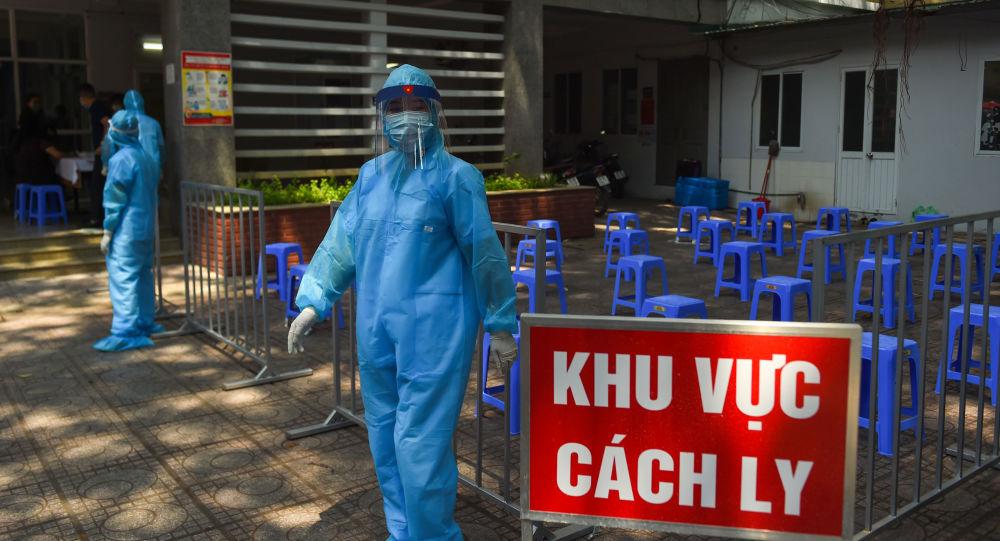 越南将已接种新冠疫苗的旅客的隔离时间缩短至7日