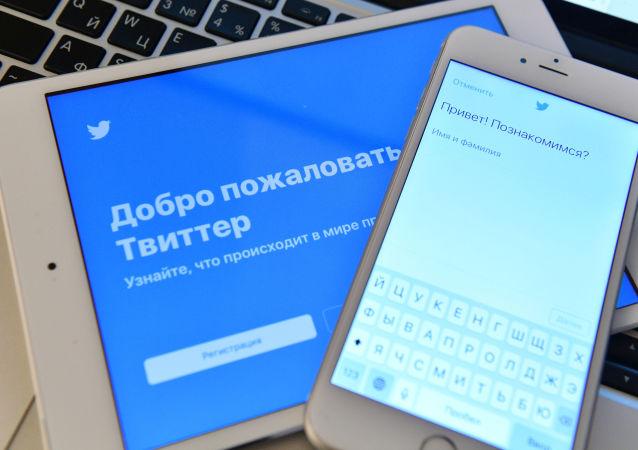 推特给中俄主流媒体贴标签