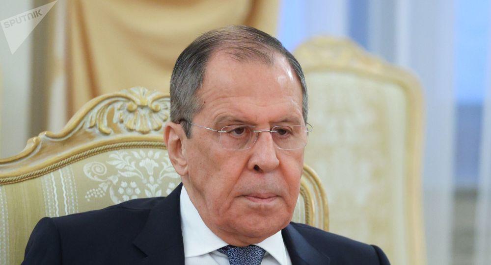 俄羅斯外長謝爾蓋∙拉夫羅夫