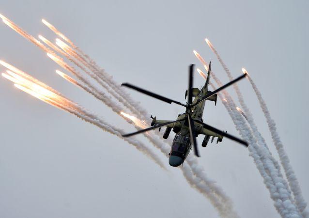 卡-52M直升机
