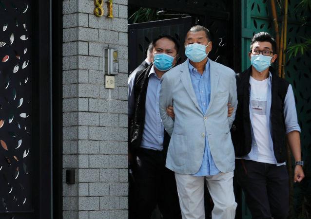 香港暫停黎智英壹傳媒集團的股票交易