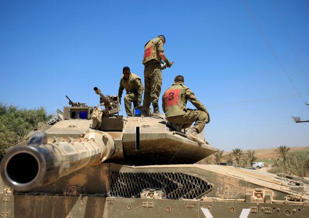加沙地带停火