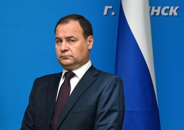 白俄羅斯總理戈洛夫琴科