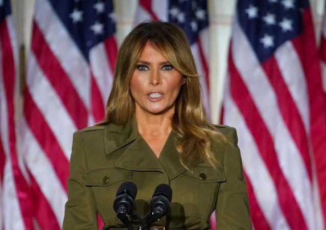 梅拉尼娅·特朗普在共和党代表大会上提到斯洛文尼亚的童年和美国梦
