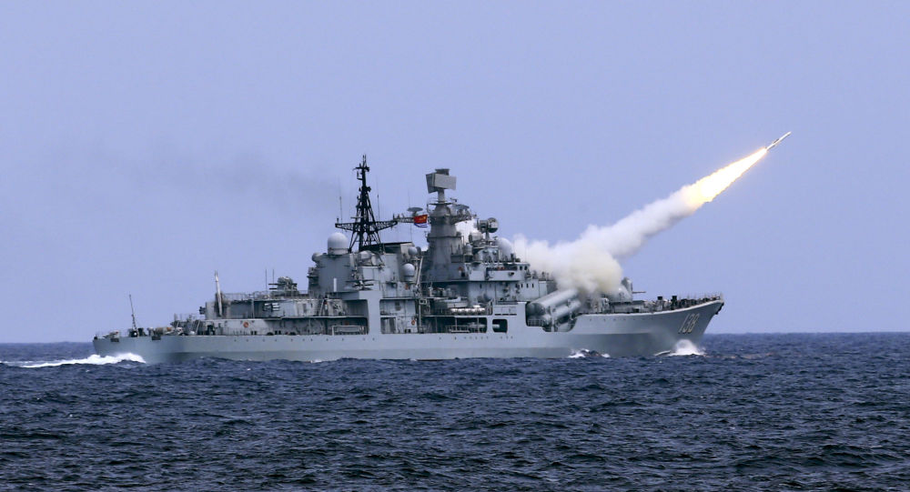 美国和其盟友在太平洋频繁动作,中国以军演做出回应
