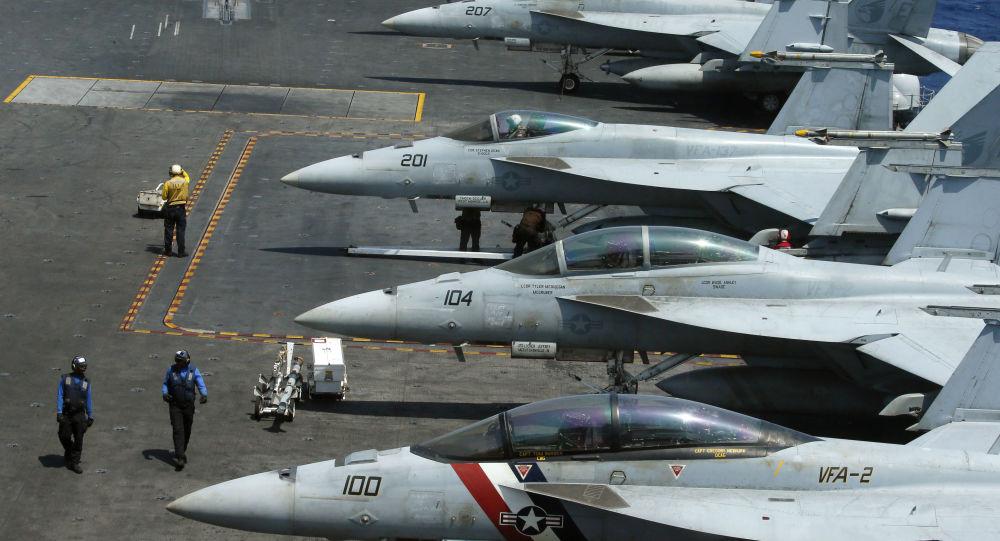 美国向沙特派出一架战斗机保障地区安全