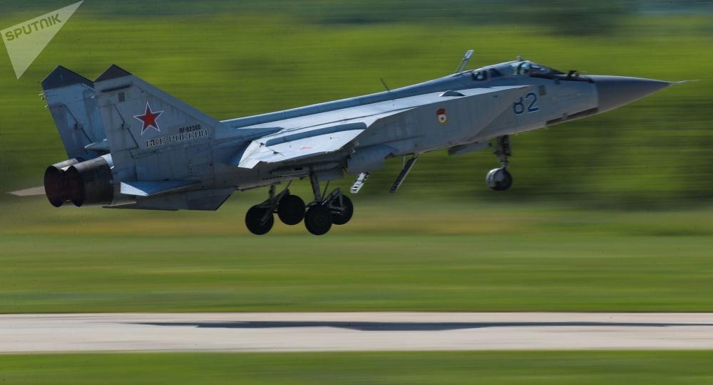 俄米格31战机