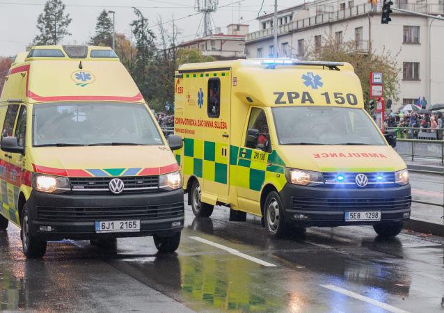 捷克布拉格因匿名爆炸威脅正對內政大樓進行人員疏散