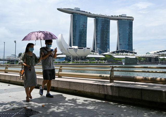 新加坡卫生部称该国至少80%人口已全面接种新冠疫苗