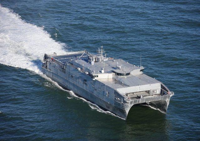 美軍第六艦隊:美國海軍「尤馬」號運輸登陸艦已駛向黑海