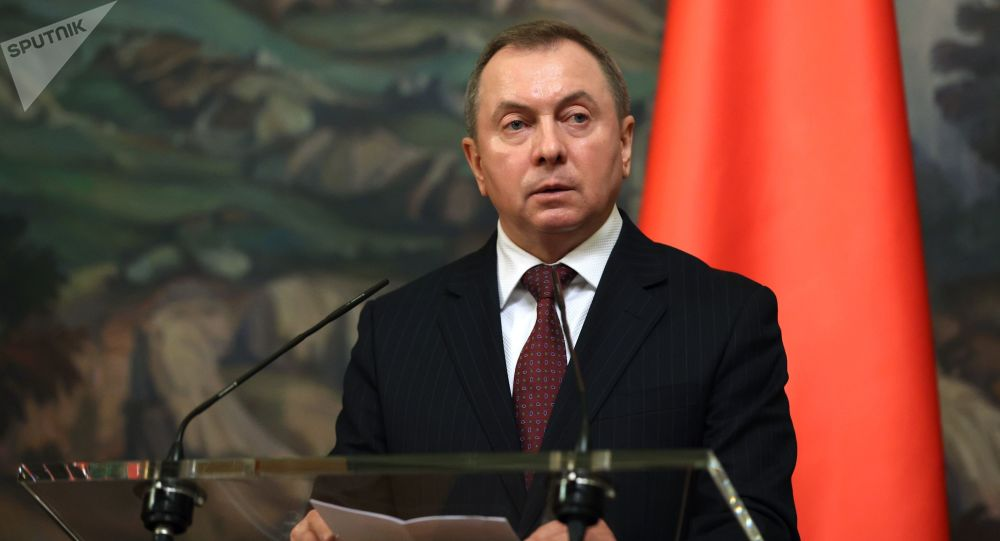 白俄羅斯外交部長弗拉基米爾•馬克伊