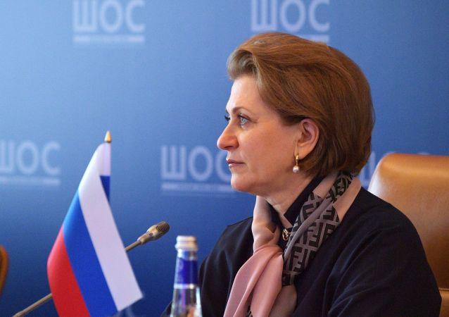 俄罗斯联邦消费者权益保护和公益监督局局长波波娃