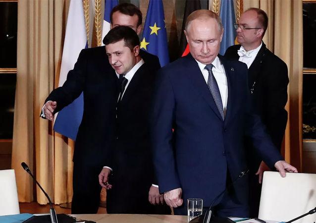 普京明确表示愿意会见乌克兰总统 但是没有看到基辅方面的意愿