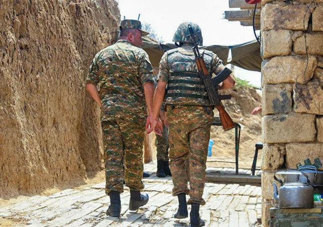 亚美尼亚国防部称一名军人遭阿塞拜疆方面射杀