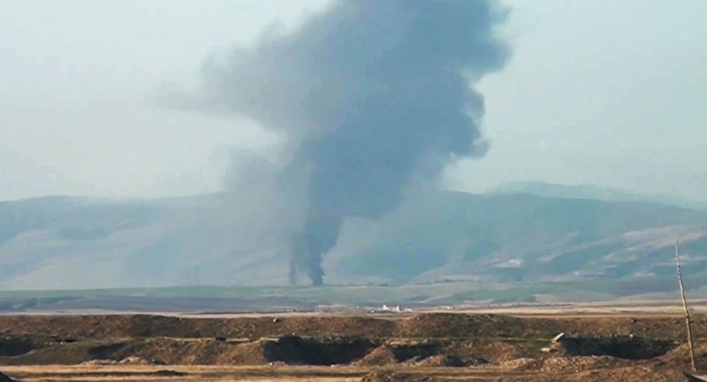 阿塞拜疆國防部:納希切萬一居民點遭亞美尼亞軍隊射擊