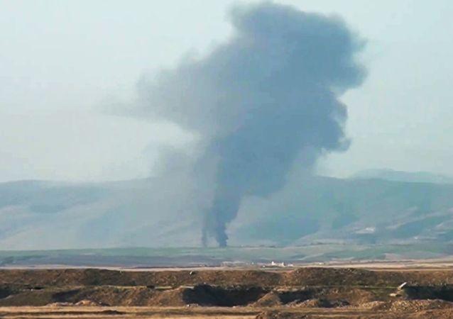 阿塞拜疆国防部:纳希切万一居民点遭亚美尼亚军队射击