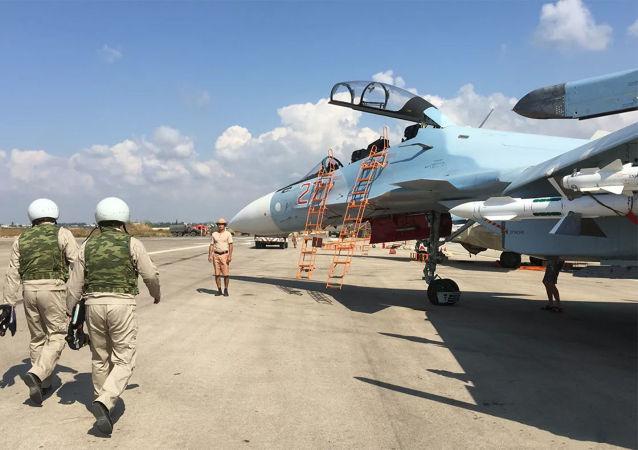 俄駐敘赫梅米姆空軍基地