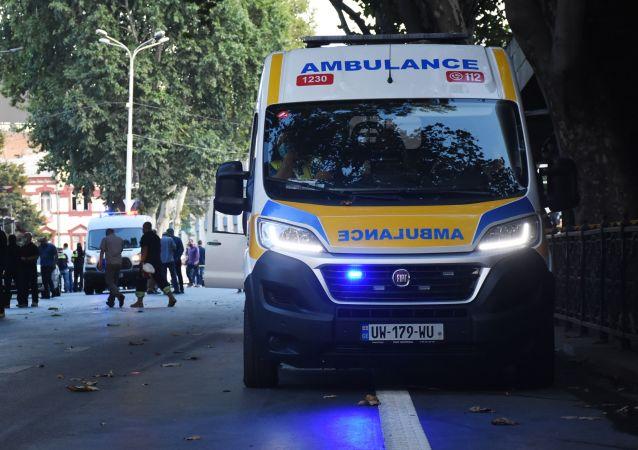 格鲁吉亚内务部通报巴统房屋部分坍塌致4人死亡