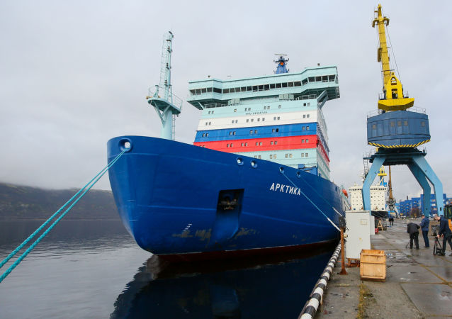 俄核动力破冰船
