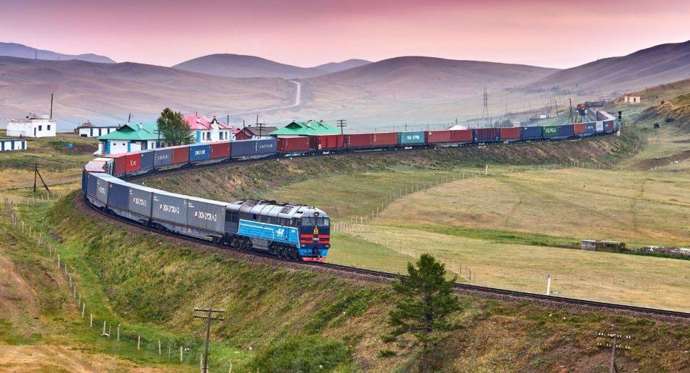 俄鐵貨運列車