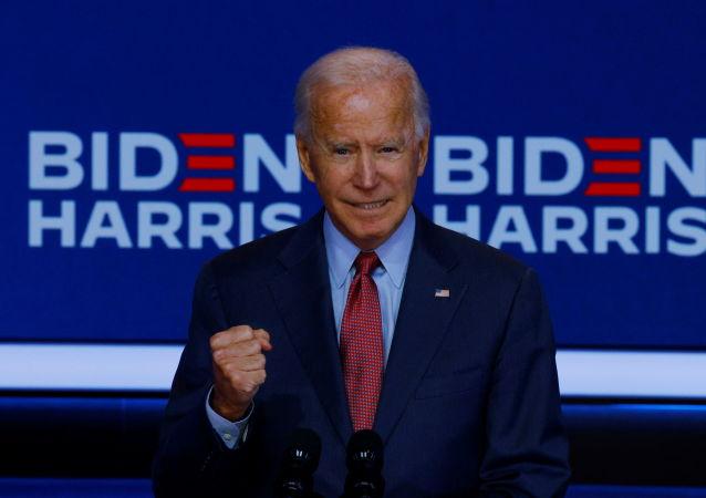 美国民主党总统候选人拜登