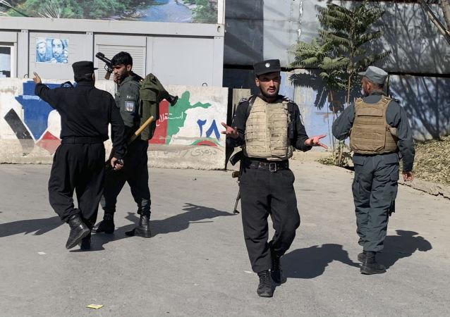 阿富汗警察(资料图片)