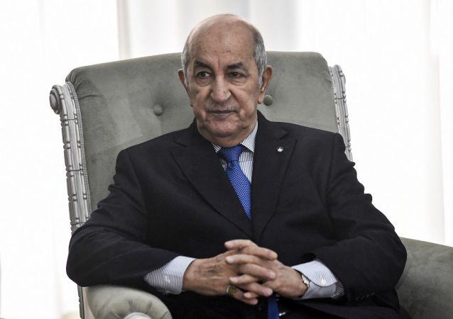 阿尔及利亚总统特本