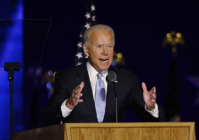 """拜登谴责对总统选举结果的""""攻击"""""""