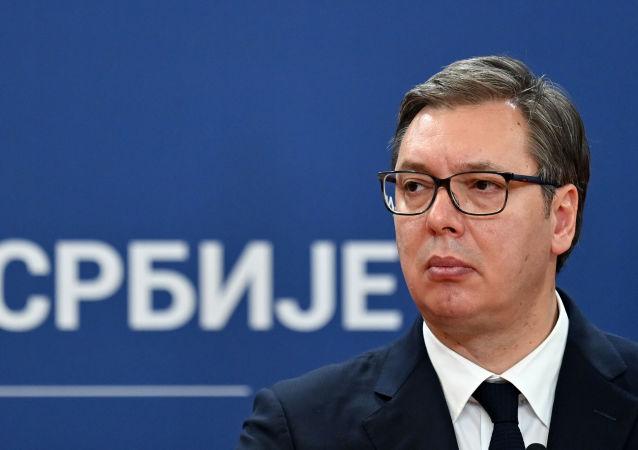 塞爾維亞總統武契奇