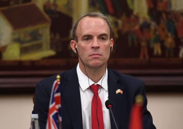 英國外交大臣拉布