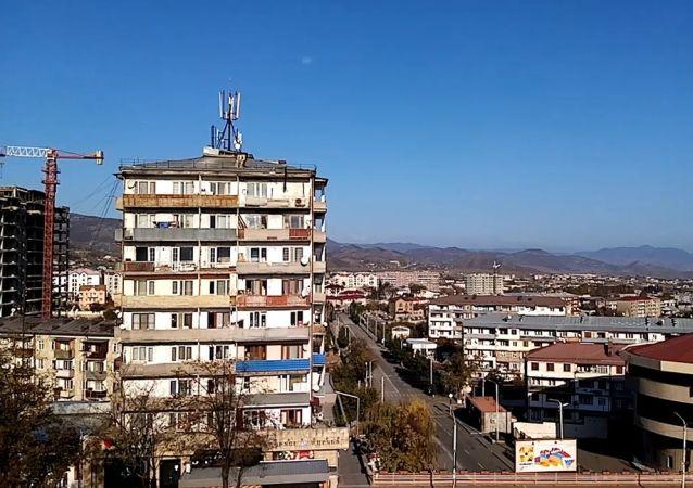 不受國際承認的納戈爾諾-卡拉巴赫共和國首都斯捷潘納克特