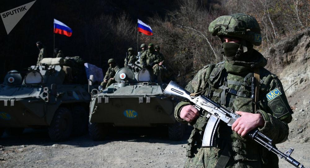 俄罗斯维和人员