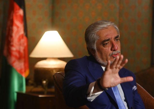 阿富汗最高民族和解委员会主席阿卜杜拉•阿卜杜拉