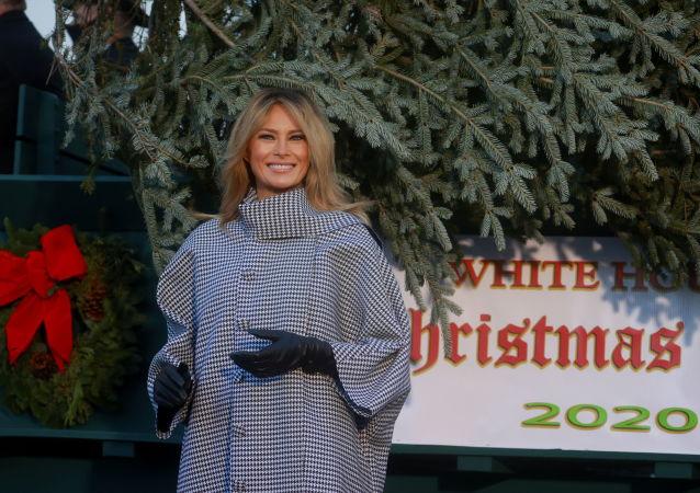 """梅拉尼娅称在为圣诞节做准备被指""""虚伪"""""""
