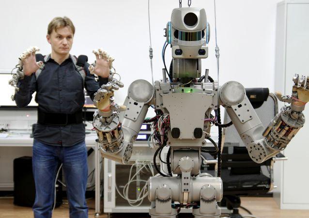 俄羅斯機器人「費奧多爾」