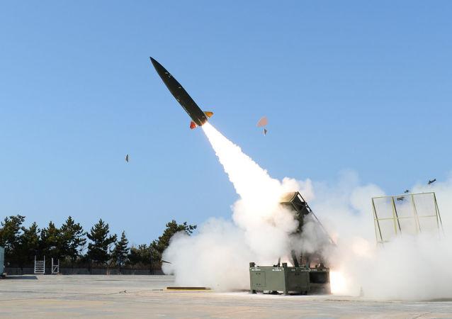 韓國戰術地對地導彈KTSSM