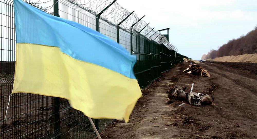 在烏克蘭邊境