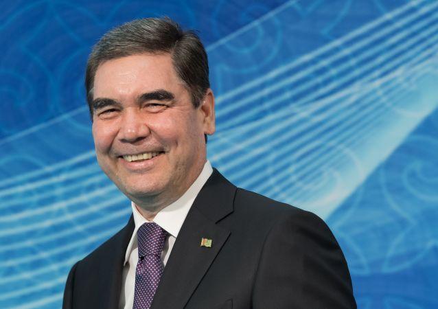 媒体:土库曼斯坦总统驾驶新战机