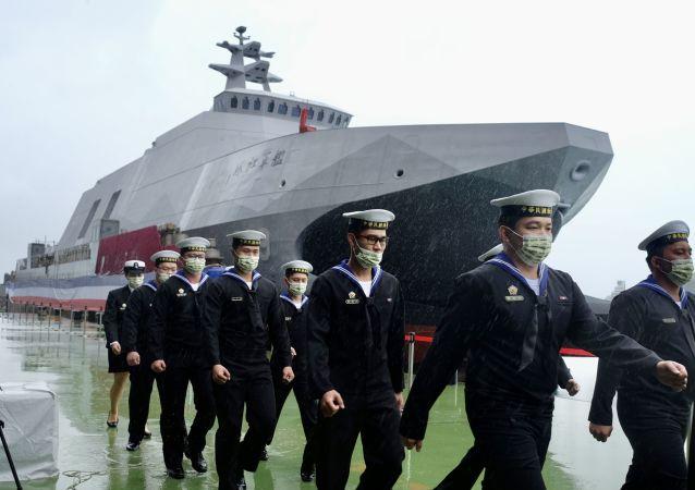 """台军""""塔江""""号轻型护卫舰"""