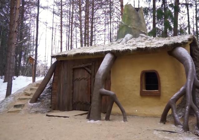 童話森林:霍比特人的家和史萊克的小屋