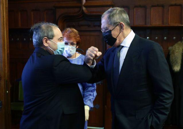 拉夫羅夫與梅克達德(資料圖片)