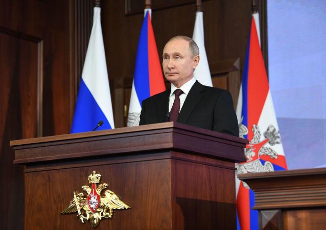 俄联邦委员会预计普京或将在明年初向俄联邦会议发表国情咨文