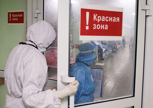 俄防疫指揮部:俄單日新增新冠病毒感染病例34303例 累計超799.2萬例