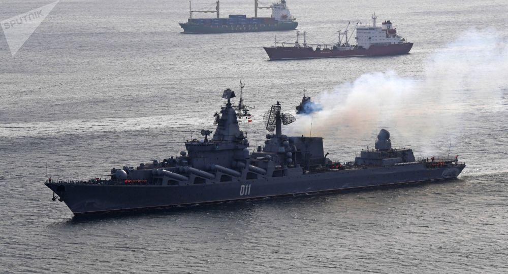 俄國防部:外國軍機在俄方艦艇位於太平洋的演習地區活動