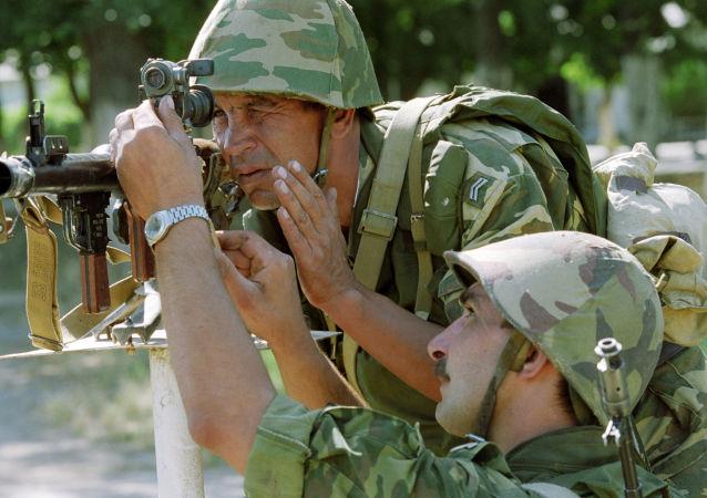 俄羅斯合同兵