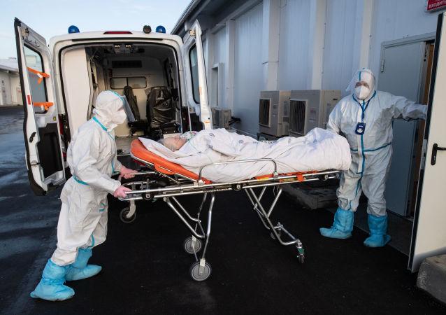 俄防疫指挥部:俄单日新增新冠病毒感染病例25018例 累计超595.8万例