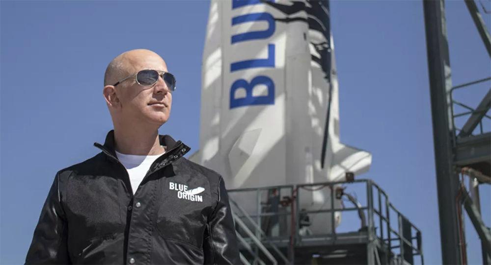 美國企業家傑夫∙貝索斯和藍色起源航空航天公司
