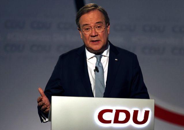德国联盟党总理候选人拉舍特