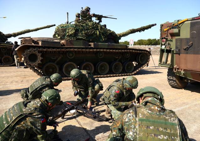 台湾的年度军演开始